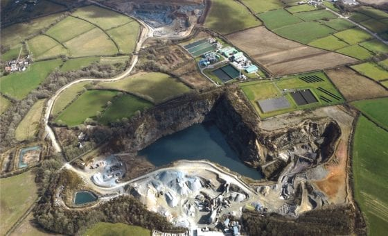 Aberdo Quarry : North Wales Aggregates Supplier