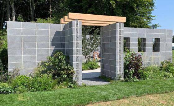 Greenbloc used in award winning garden at RHS Tatton Park